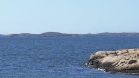 Δύσκολα νησιά αρχιπελαγών του Γκέτεμπουργκ απόθεμα βίντεο