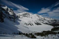 Δύσκολα χειμερινά βουνά 3 Στοκ φωτογραφία με δικαίωμα ελεύθερης χρήσης