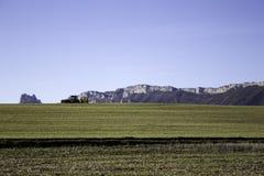 Δύσκολες πέτρες βουνών Στοκ Φωτογραφία