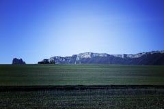 Δύσκολες πέτρες βουνών Στοκ Φωτογραφίες