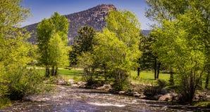 Δύσκολη άποψη μπροστινής σειράς βουνών Στοκ εικόνα με δικαίωμα ελεύθερης χρήσης