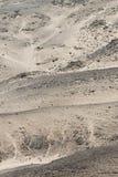 Δύσκολη έρημος στην ακτή Skelleton (Ναμίμπια) Στοκ Εικόνα