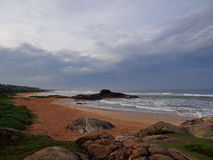 Δύσκολη ακτή, Σρι Λάνκα Στοκ εικόνα με δικαίωμα ελεύθερης χρήσης