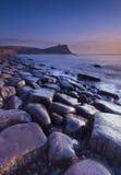 Δύσκολη ακτή του Dorset στο ηλιοβασίλεμα Στοκ Εικόνες