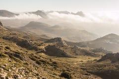 Δύσκολη κοιλάδα σε Torcal, Antequera, Μάλαγα Στοκ φωτογραφίες με δικαίωμα ελεύθερης χρήσης