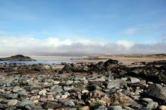 Δύσκολη παραλία σε Islay, Σκωτία Στοκ Εικόνες