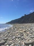 Δύσκολη παραλία σε Lyme REGIS Στοκ εικόνες με δικαίωμα ελεύθερης χρήσης