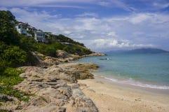 Δύσκολη παραλία Koh Samui, Ταϊλάνδη Στοκ φωτογραφία με δικαίωμα ελεύθερης χρήσης