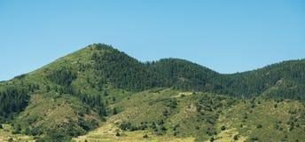 Δύσκολοι λόφοι βουνών Στοκ Εικόνες