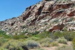 Δύσκολο βουνό ερήμων στοκ φωτογραφίες
