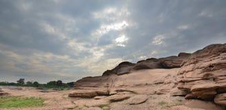 Δύσκολο βουνό στην Ταϊλάνδη Στοκ φωτογραφίες με δικαίωμα ελεύθερης χρήσης