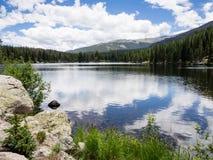 Δύσκολο εθνικό πάρκο βουνών, ΗΠΑ Στοκ φωτογραφία με δικαίωμα ελεύθερης χρήσης