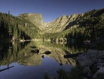 Δύσκολο εθνικό πάρκο βουνών στο βόρειο Κολοράντο Στοκ εικόνα με δικαίωμα ελεύθερης χρήσης