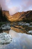 Δύσκολο εθνικό πάρκο βουνών στο βόρειο Κολοράντο Στοκ Φωτογραφίες