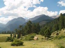 Δύσκολο εθνικό πάρκο βουνών Στοκ φωτογραφία με δικαίωμα ελεύθερης χρήσης