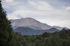 Δύσκολο εθνικό πάρκο βουνών Στοκ Εικόνες