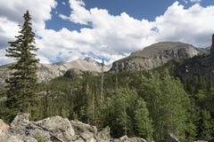 Δύσκολο εθνικό πάρκο βουνών Στοκ εικόνα με δικαίωμα ελεύθερης χρήσης