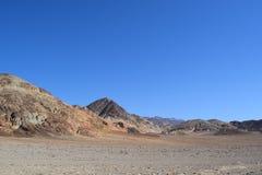 Δύσκολο τοπίο στην κοιλάδα Καλιφόρνια θανάτου Στοκ Εικόνες
