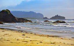 Δύσκολο Pacific Coast Στοκ Εικόνες