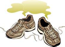 δύσοσμα πάνινα παπούτσια απεικόνιση αποθεμάτων