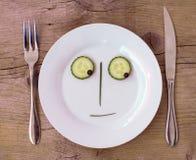 δύσπιστο λαχανικό πιάτων πρ Στοκ Φωτογραφία