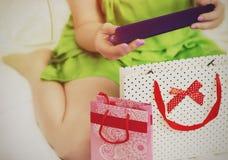 Δώρα για τις διακοπές Στοκ φωτογραφία με δικαίωμα ελεύθερης χρήσης