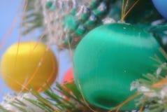 δώρα διακοσμήσεων Χριστ&omic στοκ εικόνα
