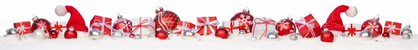 Δώρα και μπιχλιμπίδια Χριστουγέννων Στοκ Εικόνα