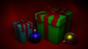 Δώρα και παιχνίδια Χριστουγέννων στοκ φωτογραφία με δικαίωμα ελεύθερης χρήσης