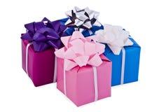 δώρα κιβωτίων Στοκ Εικόνα