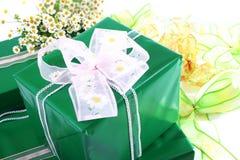 δώρα κιβωτίων Στοκ Εικόνες