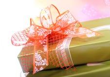 δώρα κιβωτίων Στοκ φωτογραφία με δικαίωμα ελεύθερης χρήσης