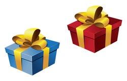 δώρα που τυλίγονται Στοκ Εικόνα