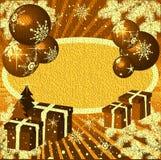 δώρα Χριστουγέννων σφαιρών διανυσματική απεικόνιση