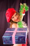 δώρα Χριστουγέννων Στοκ Εικόνες