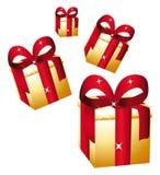 δώρα χρυσά ελεύθερη απεικόνιση δικαιώματος