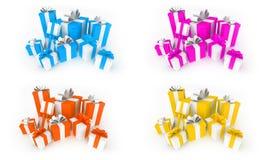 δώρα χρώματος Απεικόνιση αποθεμάτων