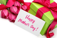Δώρο για την ημέρα της μητέρας Στοκ εικόνα με δικαίωμα ελεύθερης χρήσης