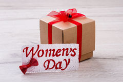 Δώρο ημέρας γυναικών ` s Στοκ φωτογραφία με δικαίωμα ελεύθερης χρήσης