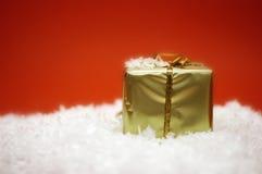 δώρο ι Χριστουγέννων Στοκ φωτογραφίες με δικαίωμα ελεύθερης χρήσης