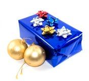 Δώρο και διακόσμηση Χριστουγέννων Στοκ Φωτογραφίες