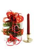 δώρο κεριών κιβωτίων Στοκ Φωτογραφίες