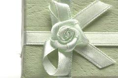 δώρο κιβωτίων πράσινο Στοκ Εικόνα