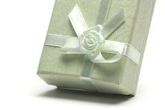 δώρο κιβωτίων πράσινο Στοκ φωτογραφία με δικαίωμα ελεύθερης χρήσης