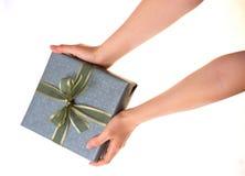δώρο κιβωτίων στοκ εικόνες με δικαίωμα ελεύθερης χρήσης