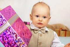 δώρο μωρών παλαιό έτος Στοκ Φωτογραφία