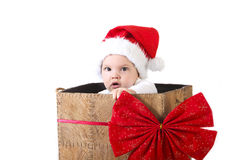 Δώρο μωρών Χριστουγέννων Στοκ Εικόνα
