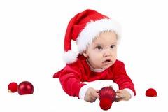 Δώρο μωρών Χριστουγέννων Στοκ φωτογραφία με δικαίωμα ελεύθερης χρήσης