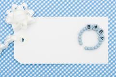 δώρο μωρών Στοκ εικόνες με δικαίωμα ελεύθερης χρήσης