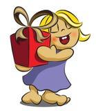 Δώρο μωρών Στοκ εικόνα με δικαίωμα ελεύθερης χρήσης